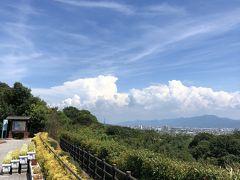 紀ノ川サービスエリアからの眺めです。