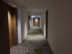 ホテル散策してきましょう~。  「廊下」。