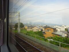 この先富士宮駅までは複線。 高架区間も多い。