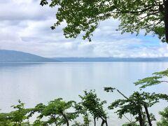 湖って穏やかでいい 癒されます