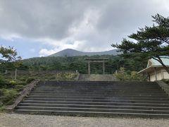霧島神宮でお参りを済ませた後、かつての神宮があった古宮址へ寄ってみました。