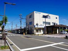 武生駅から徒歩3分ほどで、 越前武生駅に到着。  本日の目的である福井鉄道はここが始発です。