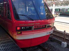 JR伊東線の伊豆急リゾート21キンメ電車