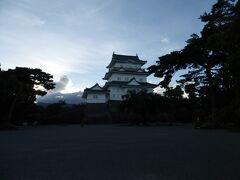 積乱雲と小田原城