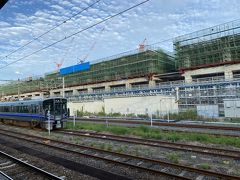 帰りに新幹線工事を偵察。