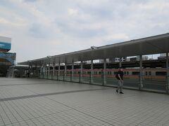 中野駅前は開発が進み綺麗になりました。