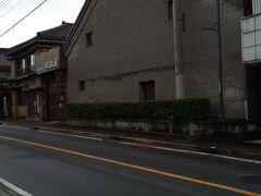 「有田屋」11:17通過。 醤油醸造元歴史ある建物のようです。実際に販売も蔵?の先でしていました。