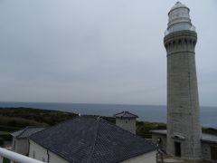 角島の端っこを目指していくと、灯台の近くから展望台に上ることができます。