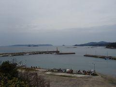 さて、それでは角島大橋をわたりまして、角島上陸!