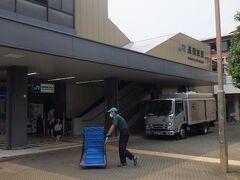 JR長岡京駅 駅そのものは普通。勝竜寺城の最寄り駅。