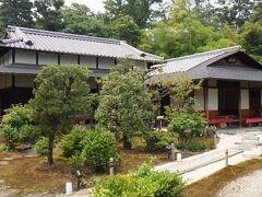 前田 二条城内にある茶房。