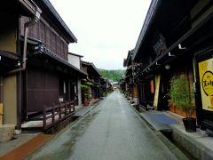 修正ルートの進行方向はなぜか自宅のある東京方面からどんどん離れていきます。 先をたどっていくと飛騨高山の古い街並み方面に進んでいきます。 それならばついでに高山の古い街並みを散策して行こうと寄り道