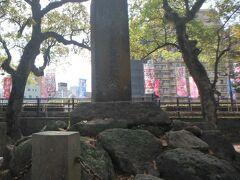 その後鹿児島市内を観光しました。 まず西郷隆盛の生家跡へ。今は公園になってます。