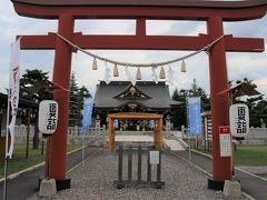 「夏詣」を行っている美瑛神社を訪れました。