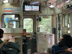 ワンマン列車で、途中は無人駅も多いので、車内精算する為の料金表がある列車。 こういう列車を生まれて初めて見たのは、四国を旅行した時だったと思いますが、こんな近くにもあったよ。