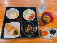 1日目の朝ごはん・・本当に美味しくて毎食完食いたしました。
