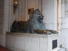 ライオン像も健在です。 久しぶりの百貨店でしたが、さすが・・・としか言いようがなかった。。。