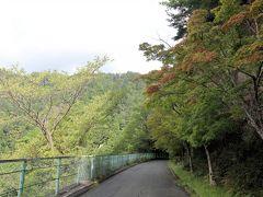 鳳来寺山パークウェイ駐車場に車をとめ、鳳来寺山東照宮へ行きます。  駐車料金は510円