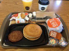 マクドナルドで朝食