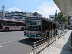 京急久里浜駅前から京急バスに乗ります。