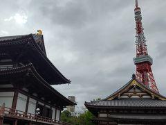 増上寺に来ました。