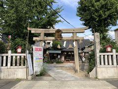 少し寄り道して、淀川神社へ。 淀川河口の海賊を取り締まる為に 配属された武士が