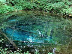 いったん宿に戻って朝食後、えらく遠回りして神の子池にやってきました。