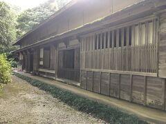 史跡の一つ、佐々木家住宅を見学。