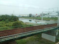 多摩川をぶっちぎります。