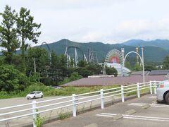 富士急ハイランドが見えます