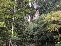 層雲峡到着 流星の滝