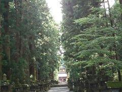 北口本宮富士浅間神社 参道です