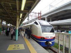 新潟駅にとうちゃく! なんかもう、久方ぶりに久方ぶりを重ねて…、 新潟の街に行くだけで、感動するようになっちャったヨォ! \(>▽<*)/