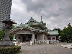 次は横綱町公園ないにある東京都慰霊堂です。