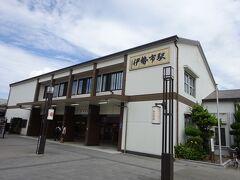 JRと近鉄の両方が入っている伊勢市駅。荷物を駅のコインロッカーに預けました。300円のに