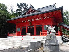 赤城神社に寄りA君の集める御朱印をもらい。 YAMAは10ヶ月ぶりに山に入れた感謝の意をお祈りしました。