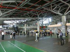台南駅に戻ってきました。