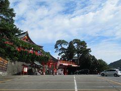 【太皷谷稲成神社】9:50 津和野到着、まずは太皷谷稲成神社へ直行