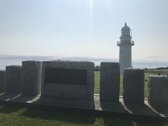 Day6 7/3金 恵山岬~函館 59.6km 7:59発ー14:09着 日曜日に苫小牧に上陸して初めて晴れた。 恵山岬灯台