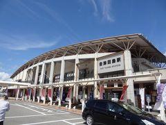 10:29 さかい温泉から31km/32分。 会津鉄道/会津田島駅に着きました。