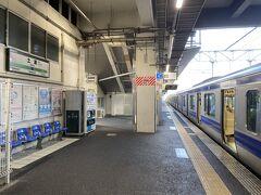 少し北に向かって着いたのは土浦駅。 霞ヶ浦を見てみようと思いました。