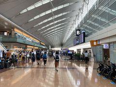 約8ヶ月ぶりとなる羽田空港です。 ここまで長かった...