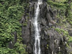 雄冬岬の銀の滝