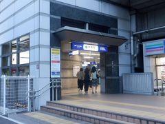 17時20分、東雲駅を通過、JR埼京線の電車が走ってますが東京臨海高速鉄道に経営が変わります。