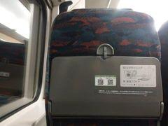 東京駅より、やまびこで福島へ。 コロナの影響で、座席はガラガラでした。