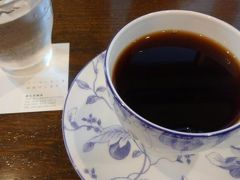 名店、椏久里でお茶。相変わらず落ち着きます。