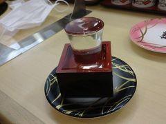 その勢いで駅ナカの寿司屋さんへ。さらに日本酒注入。