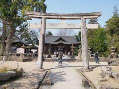 同じく敷地内にあった松江神社。 皆さん参拝しておりましたが、私は他色々参拝しているので外観だけ。罰当たりですみません。