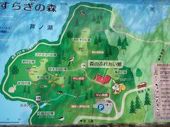 途中の道の駅も混雑で入れず、箱根やすらぎの森でトイレ休憩。 箱根町の施設のようです。 駐車場のトイレをお借りして少し敷地内を散歩します。