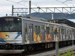 仙石線はその昔、東北で唯一『国電』と言われるほど電化が早かったのです。 (60年ほど前に松島へ行ったとき茶色の電車が印象的でした。なにせ山手線と同じだったので・・) 雄姿「マンガッタンライナー」